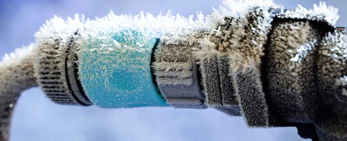 frozen pipe damage insurance claim