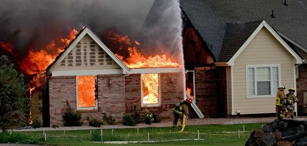 house fire claim help